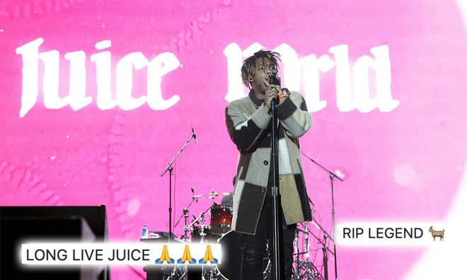 Juice WRLD died in December