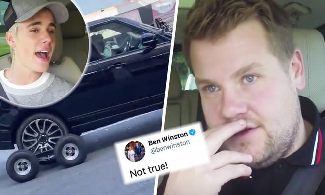 James Corden's producer explains 'faked' Carpool Karaoke