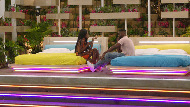 The night time is usually when the drama goes down in the Love Island villa