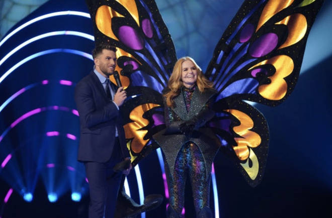 The Butterfly was Patsy Palmer