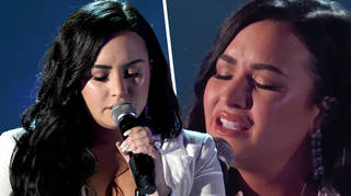 Demi Lovato broke down during powerful GRAMMY performance of 'Anyone'