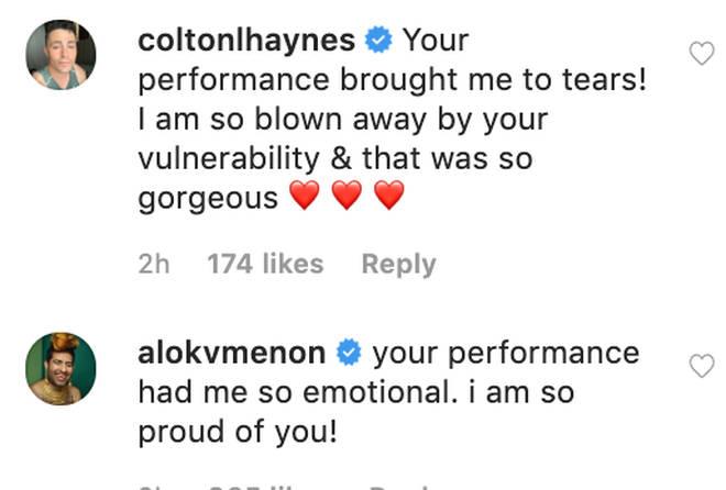 Instagram praise for Demi Lovato's powerful comeback performance