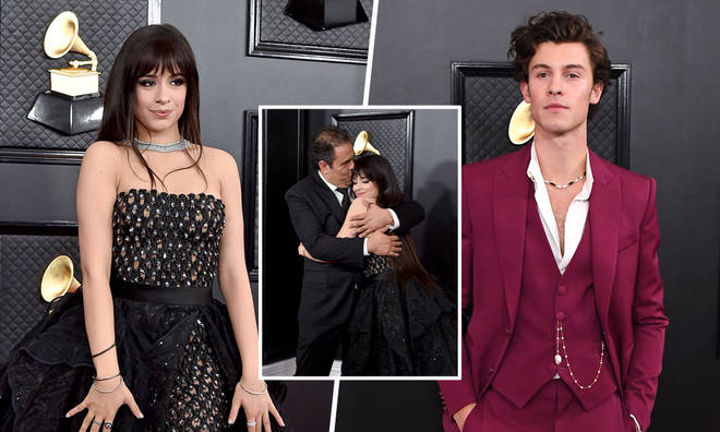Shawn Mendes and Camila Cabello walked the red carpet separately at The Grammys 2020