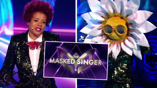 Kelis was unmasked as Daisy on The Masked Singer UK