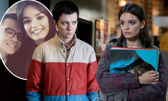 Emma Mackey and Asa Butterfield are close friends off-screen