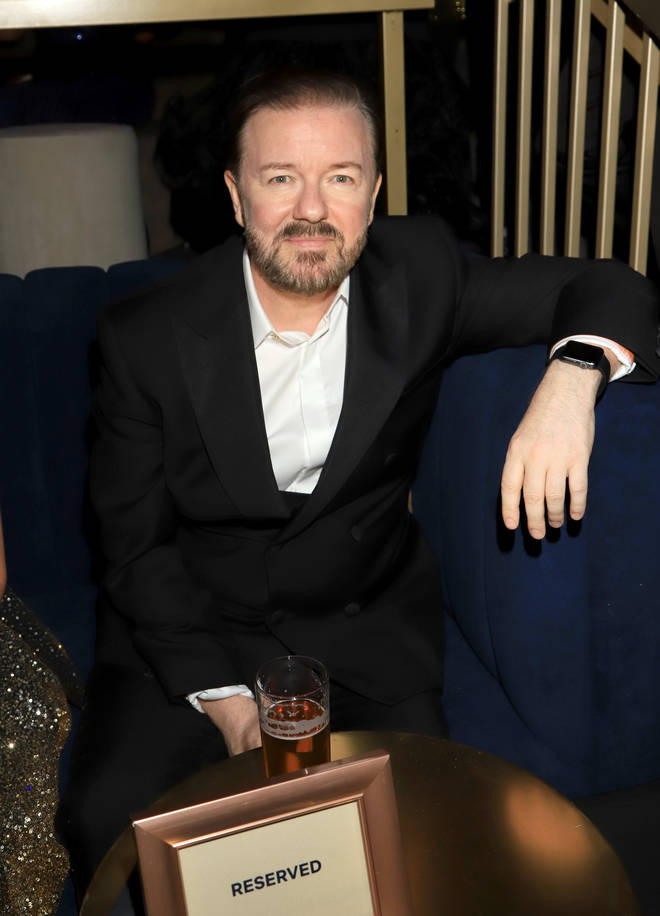 Ricky Gervais joked about Caitlyn Jenner on tour