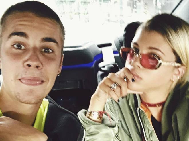 Sofia dated JB briefly