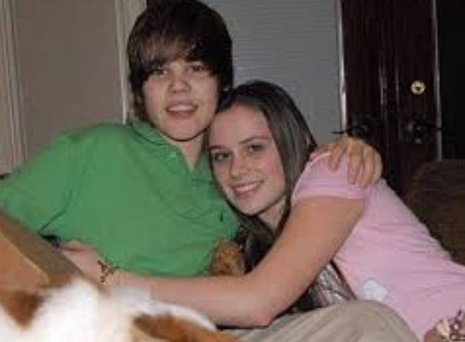 Caitlin was Justin's first girlfriend