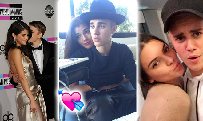Justin has had quite a few serious relationships