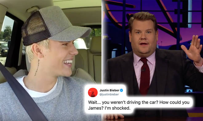 Justin Bieber poked fun at the 'fake news'