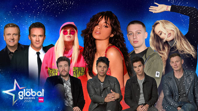 Camila Cabello, Aitch and Ellie Goulding are amongst the Global Awards 2020 performers