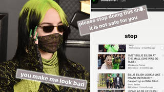 Billie Eilish begs people to stop impersonating her for YouTube videos