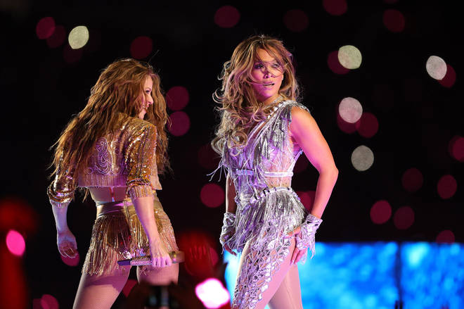 Shakira and Jennifer Lopez performed at the Super Bowl LIV halftime show