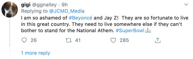 Super Bowl fans hit out at Beyoncé and Jay-Z