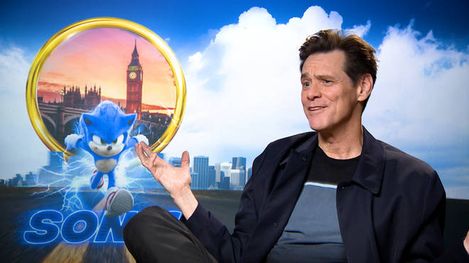 Jim Carrey stars as Dr. Robotnik in Sonic the Hedgehog