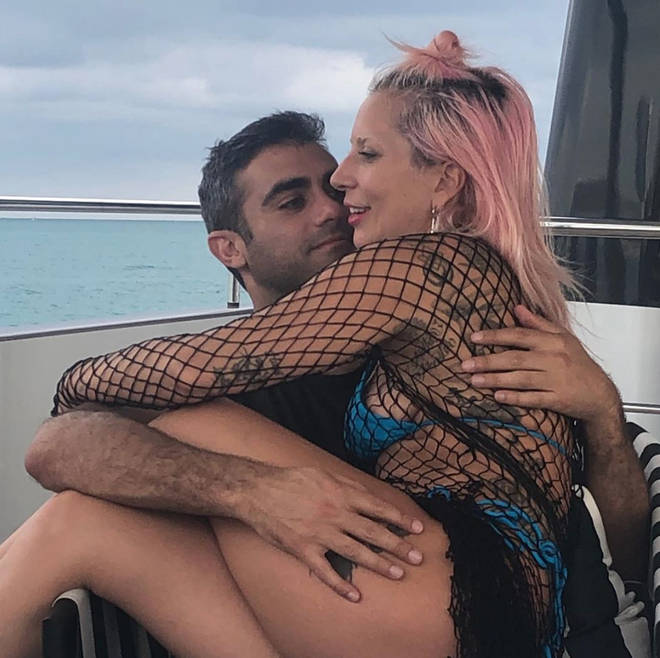 Lady Gaga confirmed her relationship with Michael Polansky