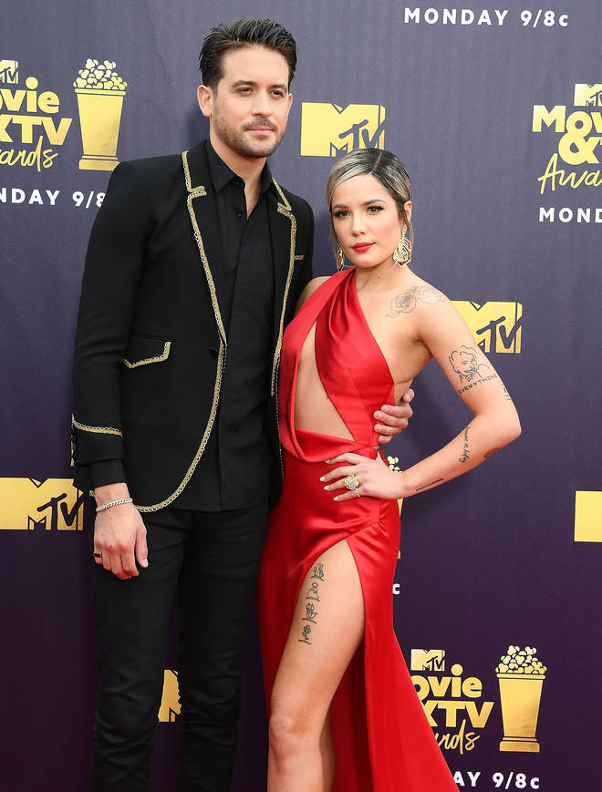 Halsey and G-Eazy dated for year until 2018