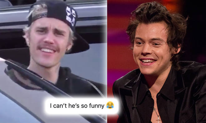 A fan asked Justin Bieber about the meaning of a Harry Styles song – with hilarious results