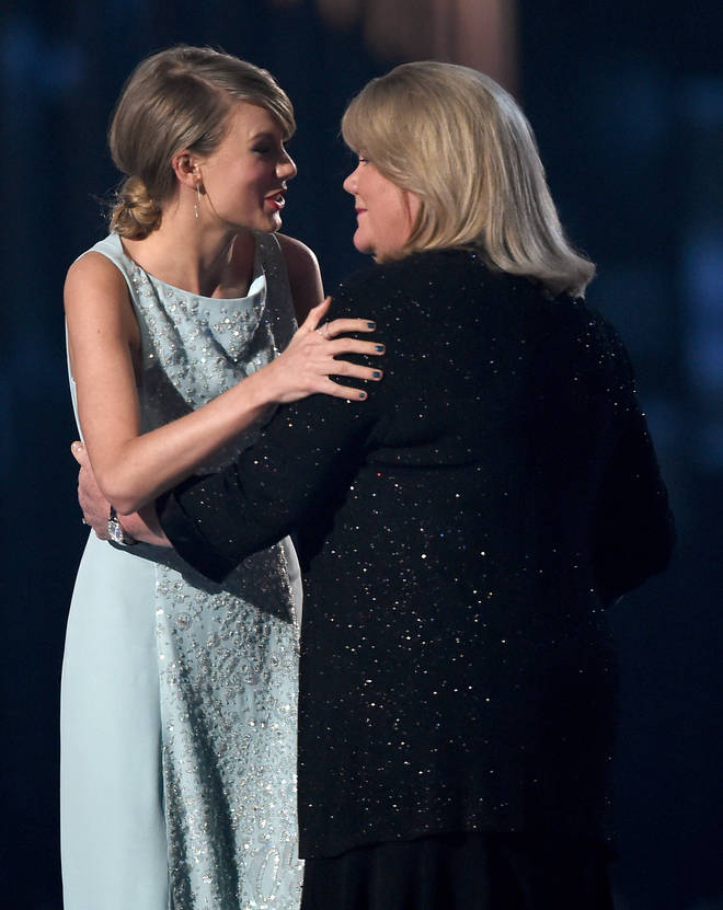 Taylor Swift's mum can often be spotted in the crowd at her concerts