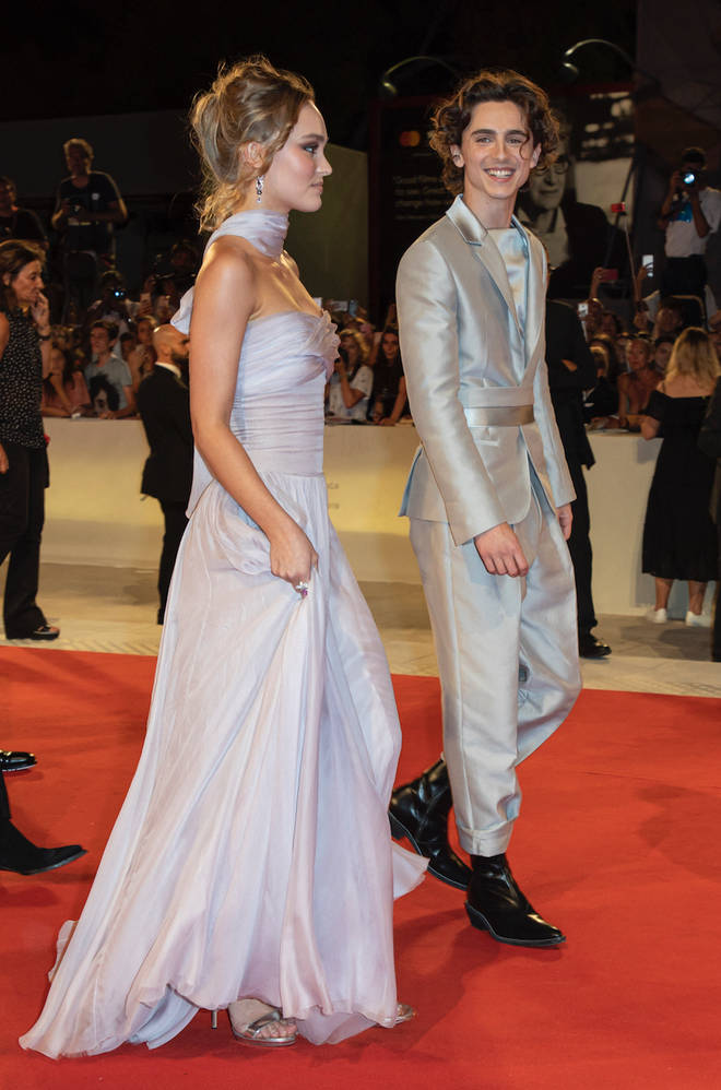 Timothée Chalamet and Lily Rose Depp walked the red carpet together for The King