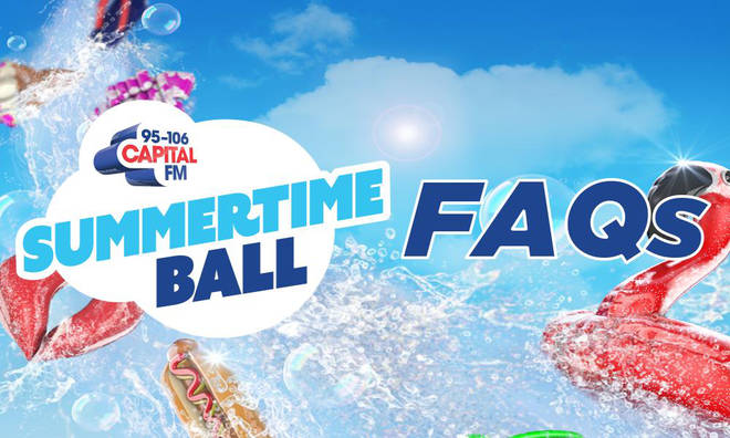 Capital's Summertime Ball FAQs