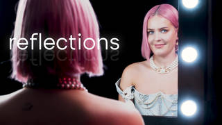 Anne-Marie gets emotional during Reflections