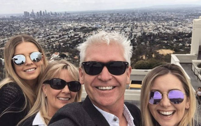 The Schofields regularly go on holiday together