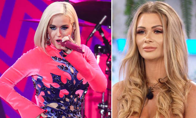 Katy Perry is loving Shaughna's one-liners on Love Island.