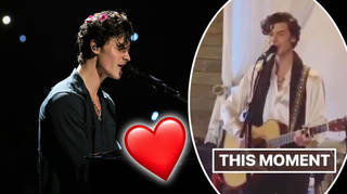 Shawn Mendes serenaded one lucky couple at their wedding