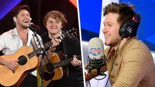 Niall Horan hinted at an upcoming collab with Lewis Capaldi