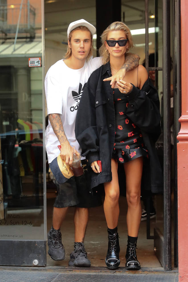 Justin Bieber proposed to Hailey in July 2018