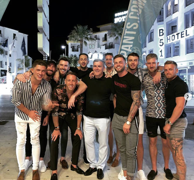 Jamie Clayton has even been on a lads holiday with Jordan Davies