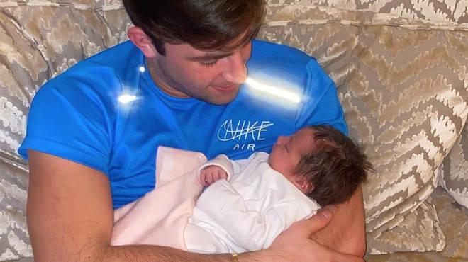 Love Island winner Jack Fincham is now a proud dad