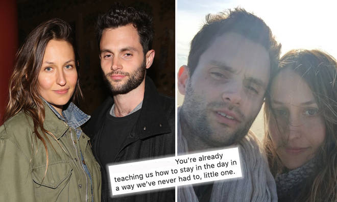 Penn Badgley expecting first child with wife Domino