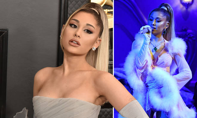 Ariana Grande was spotted kissing a mystery man in California
