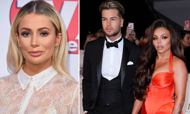Olivia and Chris had a bust-up at the NTAs back in 2018.