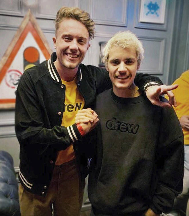 Roman Kemp caught up with Justin Bieber