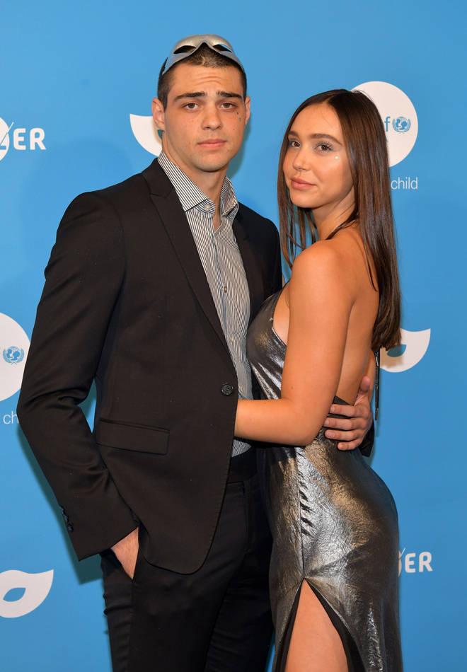 Noah Centineo with girlfriend Alexis Ren