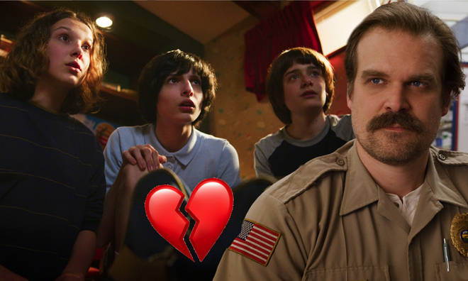 David Harbour won't be in Stranger Things 4