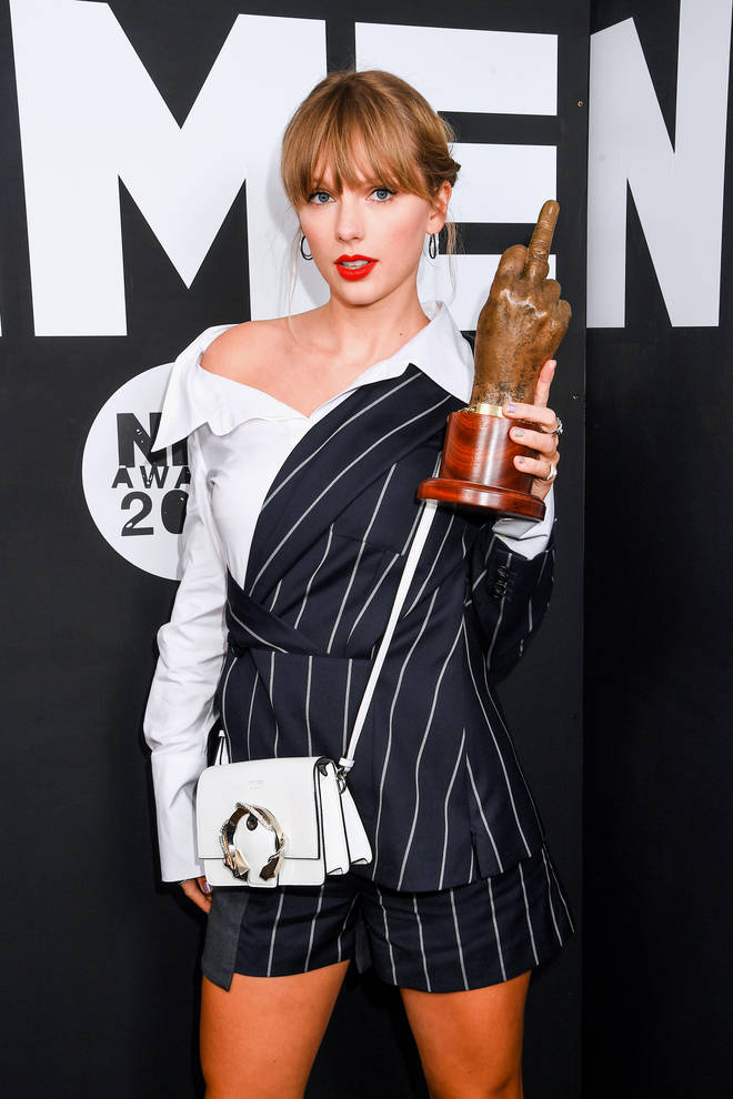 Taylor Swift won Best Solo Act In The World at the NME Awards