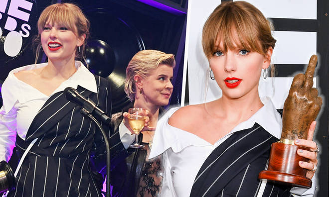 Taylor Swift calls NME awards 'craziest' ceremony she's ever been to