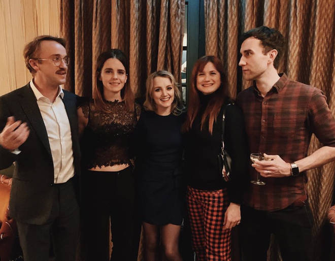 The Harry Potter cast reunited over Christmas