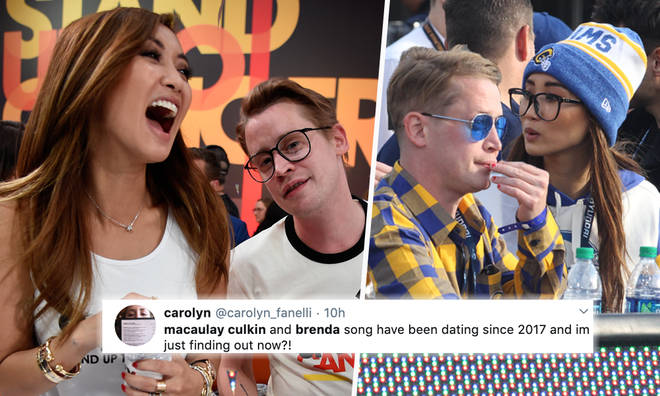 People are only just finding out Macaulay Kulkin and Brenda Song are dating