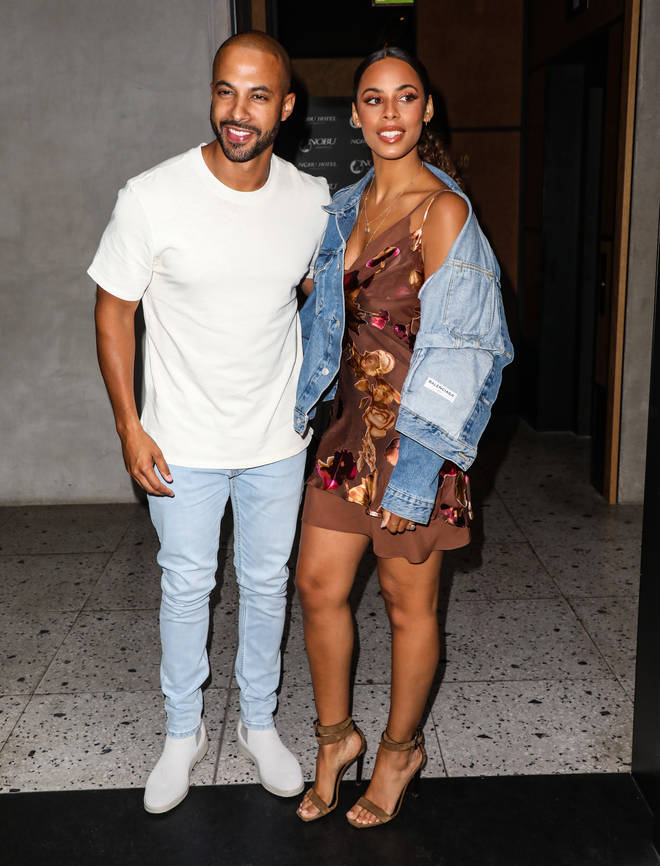 Marvin and wife Rochelle Humes started dating in 2010