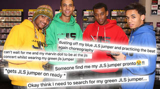 JLS fans are digging out their hoodies