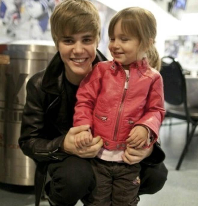 Justin's sister, Jazmyn Bieber, is all grown up