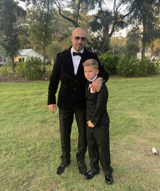 Jaxon attended Justin and Hailey Bieber's wedding
