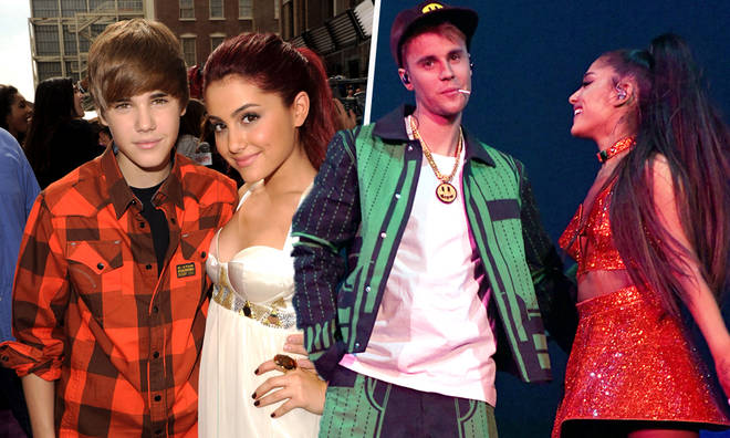 Ariana Grande & Justin Bieber's musical friendship spans ten years