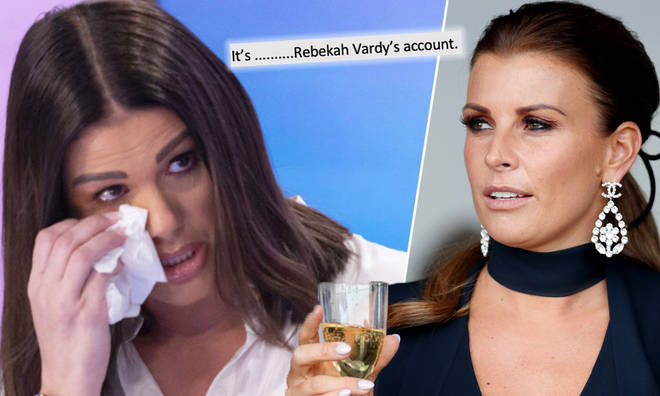 Coleen Rooney is not here for Rebekah Vardy's TV interview