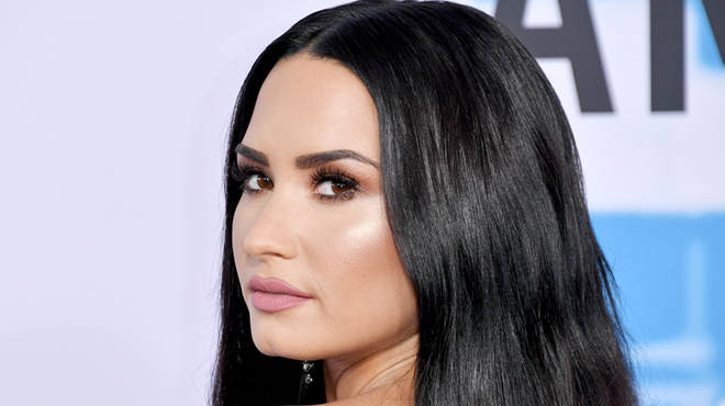 Demi Lovato attends the American Music Awards 2017